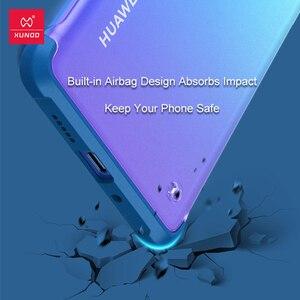 Image 2 - Xundd Telefon Fall Für Huawei P30 Pro Fall Airbag Stoßstange Schutzhülle Cases Matte Unframed Abdeckung Glas Für Huawei P30 Pro abdeckung