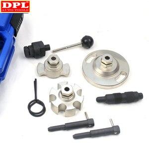 Image 5 - Motor zamanlama eksantrik kilitleme hizalama kaldırma onarım aracı için Touareg Audi A4/VAG2.7 ve Q7/3.0 otomatik garaj araçları