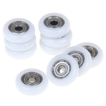 2/5/10pcs Sliding Shower Roller Wheel Plastic Carbon Steel Bearings Door Replacement Roller Wheel Runner Diameter 23mm