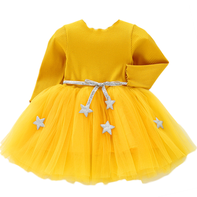 Baby Girls Spring Autumn Sweater Dress Infant Girl's Christmas Children Clothing Toddler Kids Dresses Clothes for 1- 6 Years 3