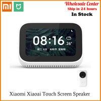In Stock AI Touch Screen Bluetooth Xiaomi Alarm Clock WiFi Smart Connection 5.0 Speaker Digital Display Speaker Mi speaker