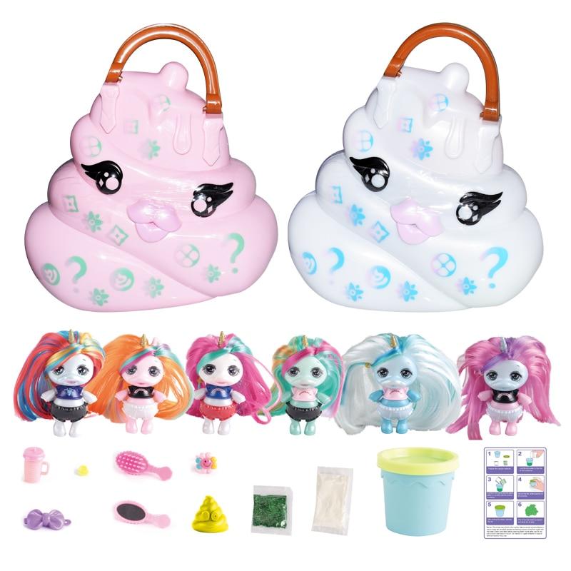 Eaki Random Colors Reissue Poopsie Verrassing Eenhoorn Kak Shakes Slime Blind Doos Speelgoed Kid Craft  Girls Toys