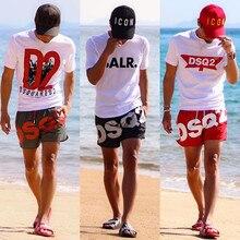 DSQ2 новый летний стиль Повседневное Классные шорты для спортзала Фитнес спортивные шорты для мужчин, для пробежки, для обучения быстросохну...