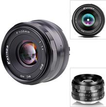 Kaxinda מצלמה עדשת 35mm f/1.6 סטנדרטי ידני ראש עדשה עבור Canon EOS M M2 M3 M5 M6 m10 ראי מצלמה