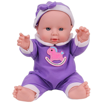 12 inch Lifelike Reborn Baby Dolls Bebe Reborn Dolls Silicone Body Baby Doll Early Education Toys For Girl Kids Children Gift keiumi 2018 wholesale diy toys soft silicone reborn baby dolls 55 cm baby girl playmates lifelike 22 doll baby alive princess