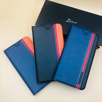 Перейти на Алиэкспресс и купить Флип-чехол для телефона из искусственной кожи для ZTE Blade A7 A5 A3 L8 2019 2020 V10 V9 Vita V8 V7 AXON 11 10S 10 Pro 5G A7S Mini Lite