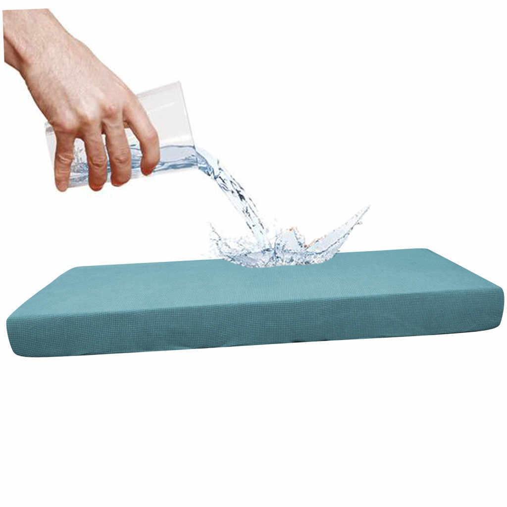 Protector Sofá de 1-4 asientos a prueba de agua cubierta Cojín del Asiento Sofá Elástica cubiertas