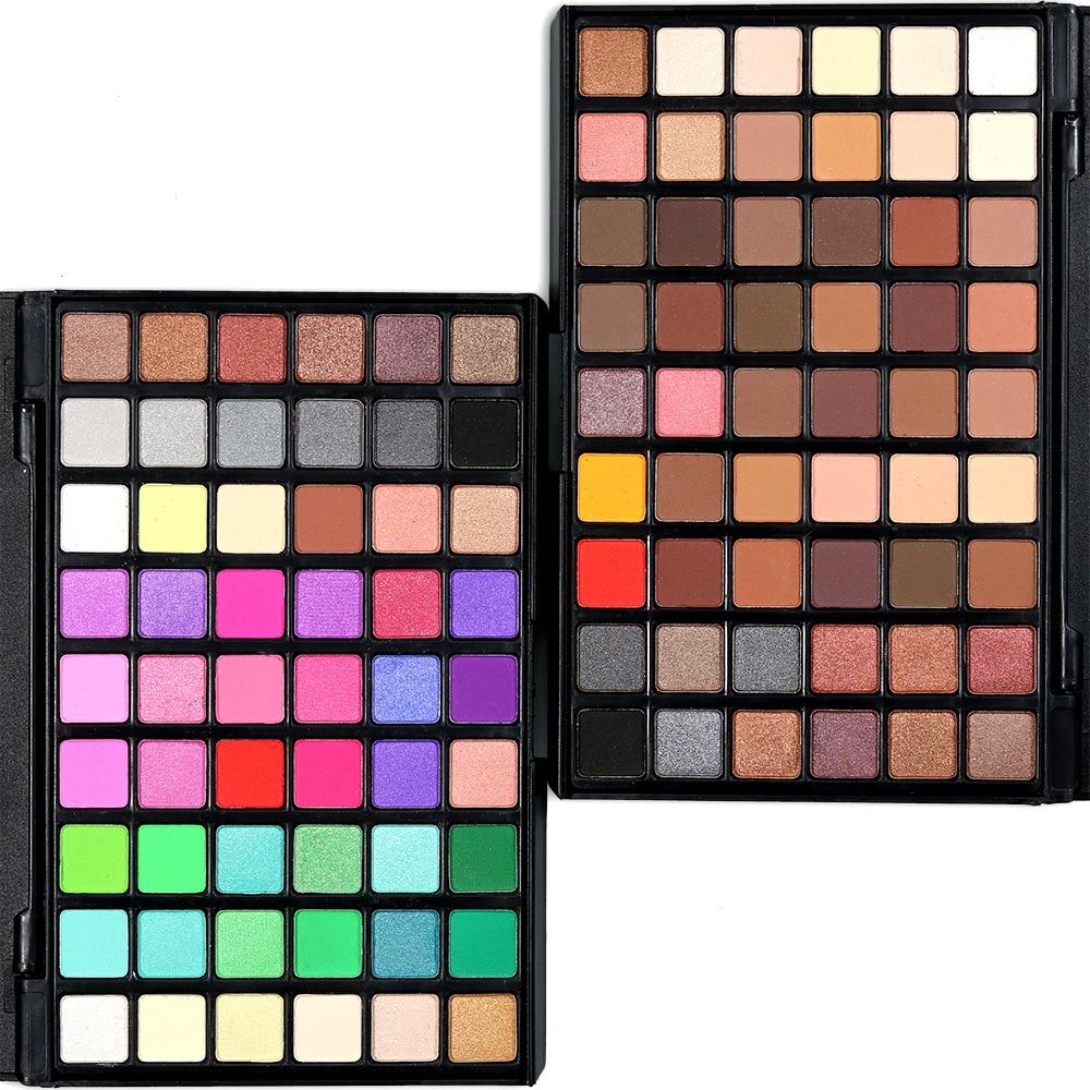 12 29 54 Colors Eye Shadow Matte Smoked Earth Color Makeup Waterproof Glitter Shimmer Nude Eyeshadow Palette Cosmetics Makeup