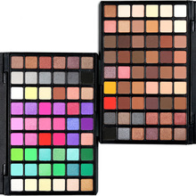 12 29 54 Colors Eye Shadow Matte Smoked Earth Color Makeup W
