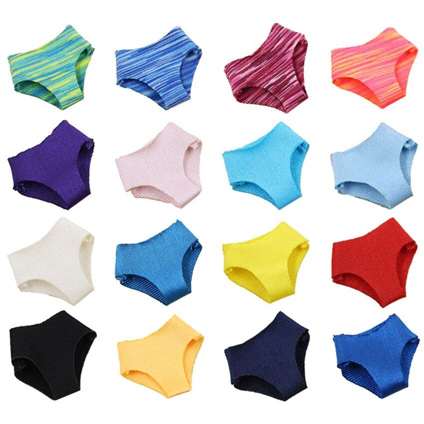 Middle Blyth Dolls Clothes Underwear Panties Set Suitable 1/8 BJD 20cm Doll Wear 18 Colors