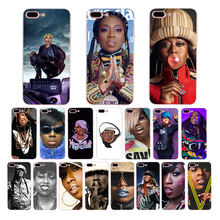 HOUSTMUST singer Missy Elliott Soft phone case for iphone 8 x 7 xr 11 pro xs max 6s 6 plus cover se 5 5s TPU shell Coque Funda missy elliott wtf