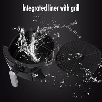 5.5L Multi-function Air Fryer 1500W Electric Deep Fryer High-speed Hot Air Circulation Cooker Oven Low Fat Health Pan AU Plug 5