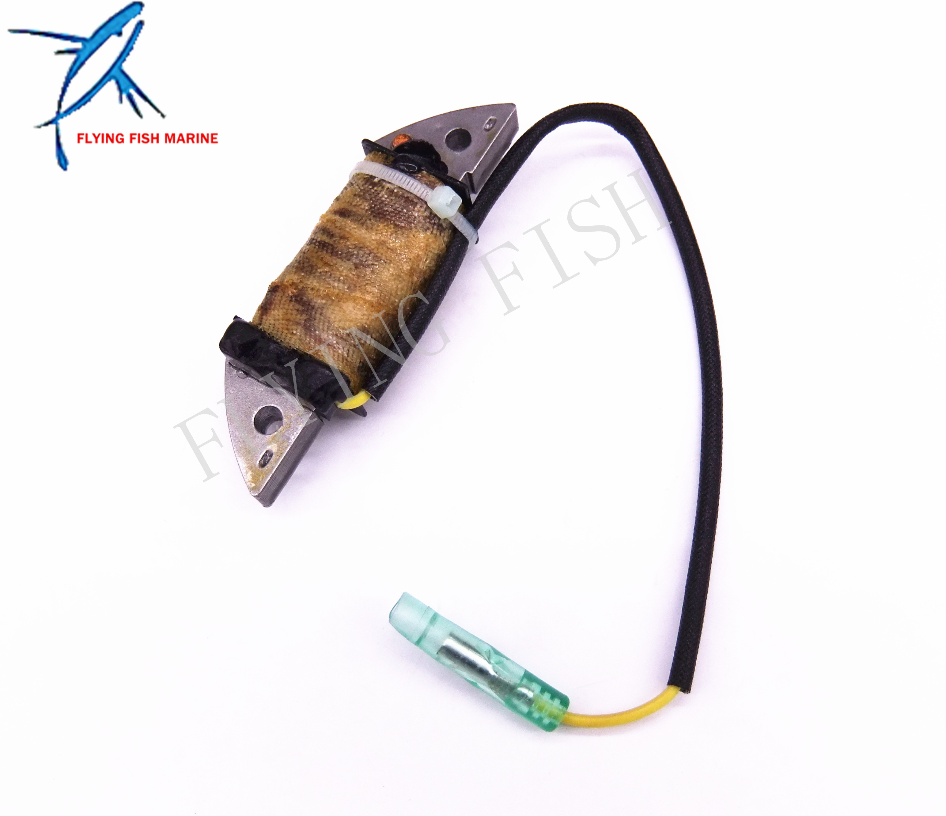 <font><b>Outboard</b></font> Engine 6A1-85520-00 6A1-85520-01 Charge Coil for <font><b>Yamaha</b></font> Boat <font><b>Motor</b></font> <font><b>2HP</b></font> 2B 2M 2T image