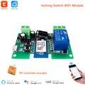 Умный модуль USB 7-32 в, 1-канальный дистанционный переключатель с Wi-Fi и самоблокировкой, для умного дома, с управлением через Amazon Alexa, «сделай са...