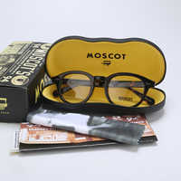 Eyeglasses Frame Men Women With Box&Case Computer Optical Retro Johnny Depp Glasses Spectacle Frame For Male Clear Lens QF165