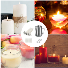 Candle Making Kit DIY Candles Craft Tools Stainless Steel Handmake Wax Cup Children Toy Set Candle Making Kit DIY Craft Tools