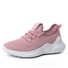 Flat-Shoes Trainers Casual Sneakers Breathable Women Fashion Ladies Mesh for Platform