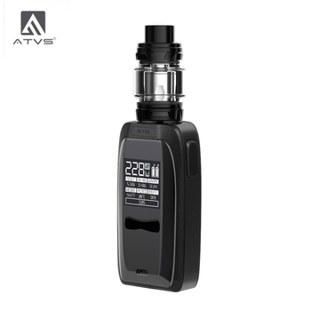 ATVS 228W Blade Electronic Cigarette Kit 18650 Box Mod With 5ml 510 Thread Tank 228W Max Output Huge Power By 18650 Battery вейп