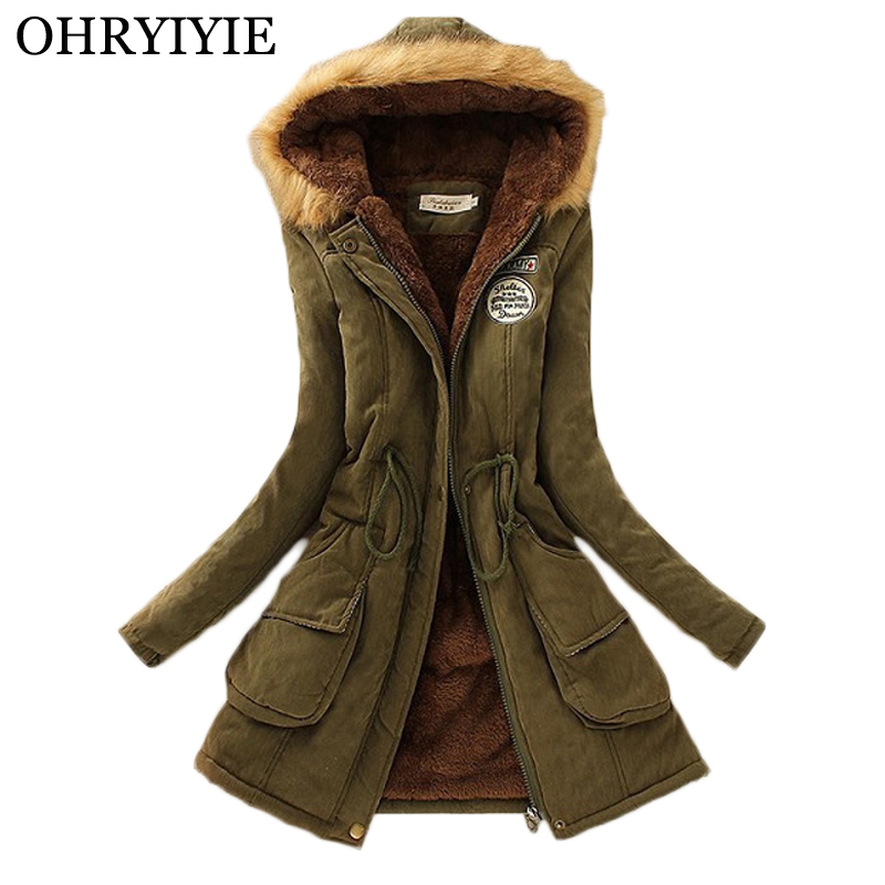 2020 Women's Thick Warm Long Winter Jackets Women Parkas For Female Hooded Anorak Lady Fur Jackets and Coats Women Manteau Femme