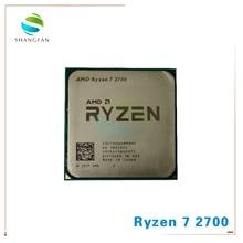 AMD Ryzen 7 2700 R7 2700 3.2 GHz Otto Core Sinteen Filo di 16M 65W Processore CPU YD2700BBM88AF Presa AM4