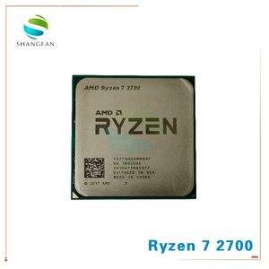 Image 1 - AMD procesador de CPU AMD Ryzen 7 2700 R7 2700, 3,2 GHz, ocho núcleos, 16M, 65W, YD2700BBM88AF, Socket AM4