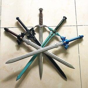 5 видов 1:1 Косплей skysmy Black & Bue Косплей PU yuki меч асуны реквизит Хэллоуин оружие ролевые игры фигурка безопасная игрушка