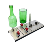 professional glass bottle cutter DIY Create Glass Sculptures Wine Beer Cutting machine hand tool Suitable for 2 12mm thickness