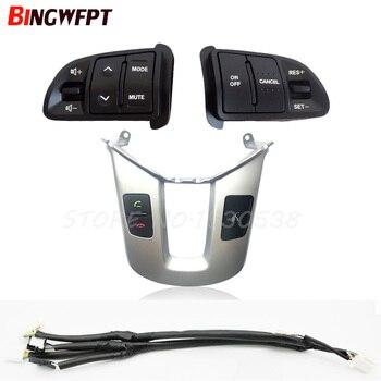 Für Kia sportage SL lenkrad schalter Bluetooth taste Beantwortung telefon schalter lenkrad taste Silber