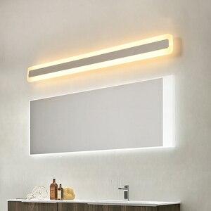 Image 5 - NEO Gleam 16 W/24 W/32 W/40 W/48 W 40/60/ 80/100/120 ซม.โมเดิร์นโคมไฟความสว่างห้องน้ำกันน้ำ LED กระจก sconce
