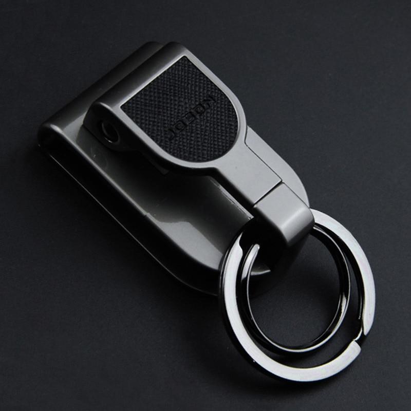 Luxury High-quality Belt Key Chain Clip Holder Waist Hanging Belts Keychain Holders Car Key Chain Buckle Creative Men Best Gift