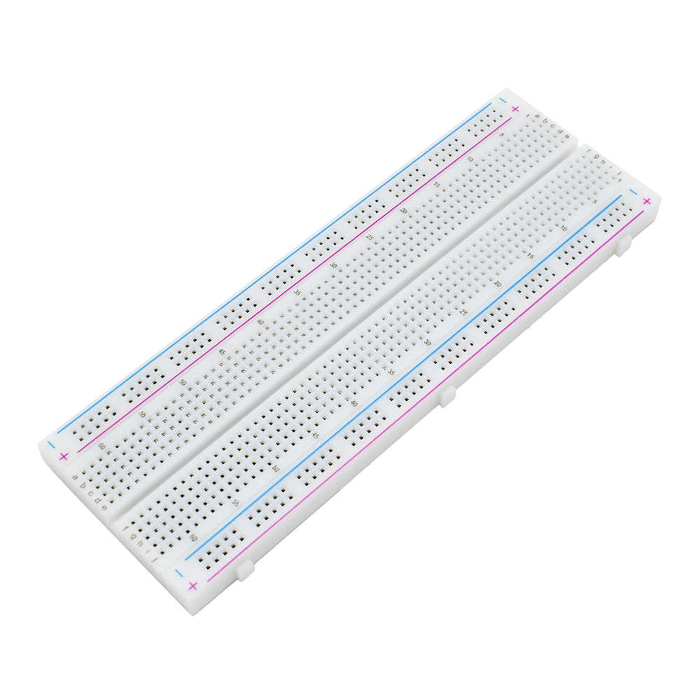 Image 3 - 10pcs/lot Breadboard 830 Point Solderless PCB Bread Board MB 102 MB102 Test Develop DIY White/Transparent-in Integrated Circuits from Electronic Components & Supplies