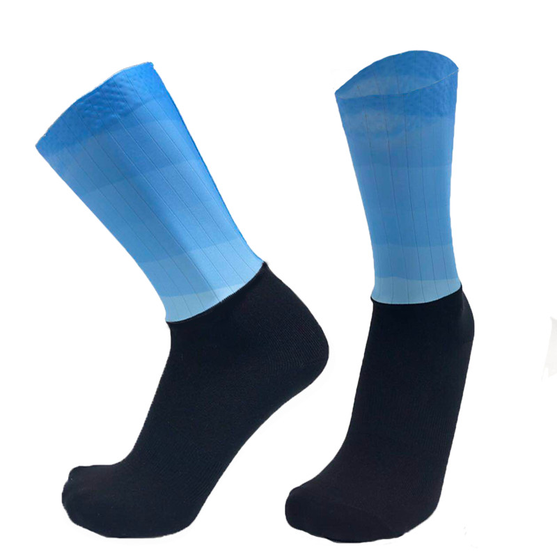 High Quality Professional Sport Socks Breathable Football Road Bicycle Socks Outdoor Sports Racing Cycling Sock Stocking