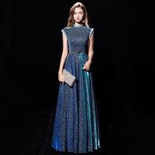 Женское вечернее платье aura queen элегантное тонкое аристократическое
