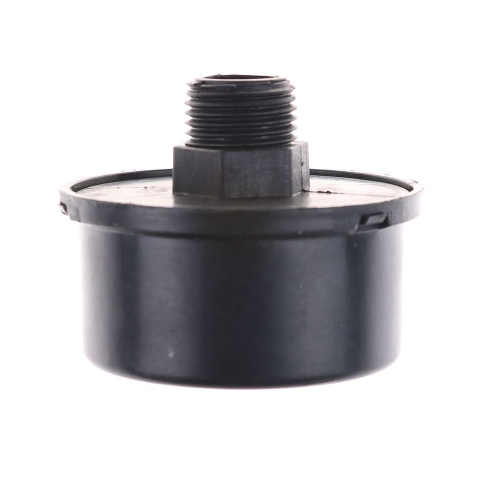 Silenciadores rosqueados masculinos do silenciador do filtro de 1 pces 16mm para a entrada do compressor de ar