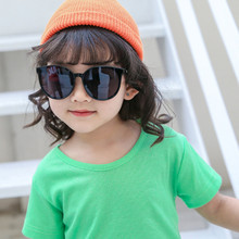 Fashion Boys and Girls Sunglasses square Style Children's Brand Design 100% UV-proof Glasses Oculos Gafas