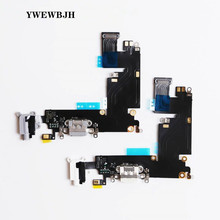 YWEWBJH 10pcs Charging Port Flex Cable for iPhone 6 6S 7 8 Plus XR XS USB Dock Connector Charger Ports X 5 5S 5C