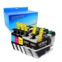 compatible for 5PK LC3013 1C+1Y+1M+2BK Ink Cartridge for Brother MFCJ491DW/J497DW/J690DW/J895DW|Ink Cartridges|   -