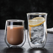 200 ml 250 ml Drinking Glasses Double Bottom Mug for Coffee and Juice Mugs Glass Coffee Cups and Mugs of Dragon Egg Shape mug remember florina 330 ml