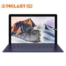 Teclast X6 PRO планшетный ПК 8 ГБ ОЗУ 256 ГБ SSD 12,6 дюймов 1920X2880 двухъядерный Windows 10 Home FHD ips Двойная камера HDMI 2 в 1 планшеты