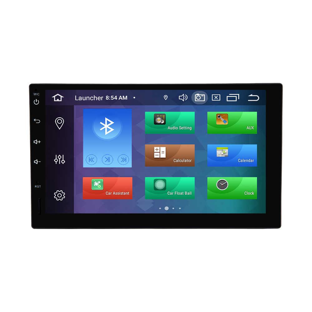 Unidade de rádio multimídia para carro, unidade multimídia com android 9.0 para nissan xtrail note qashqai almera, som estéreo e navegação gps 4gb 4gb