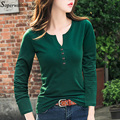 Frauen Sexy v-ausschnitt T Shirt Kurze Lange Hülse T-shirt Femininant 2021 Sommer Frühling Casual Dame Tops T Weibliche Kleidung taste G82