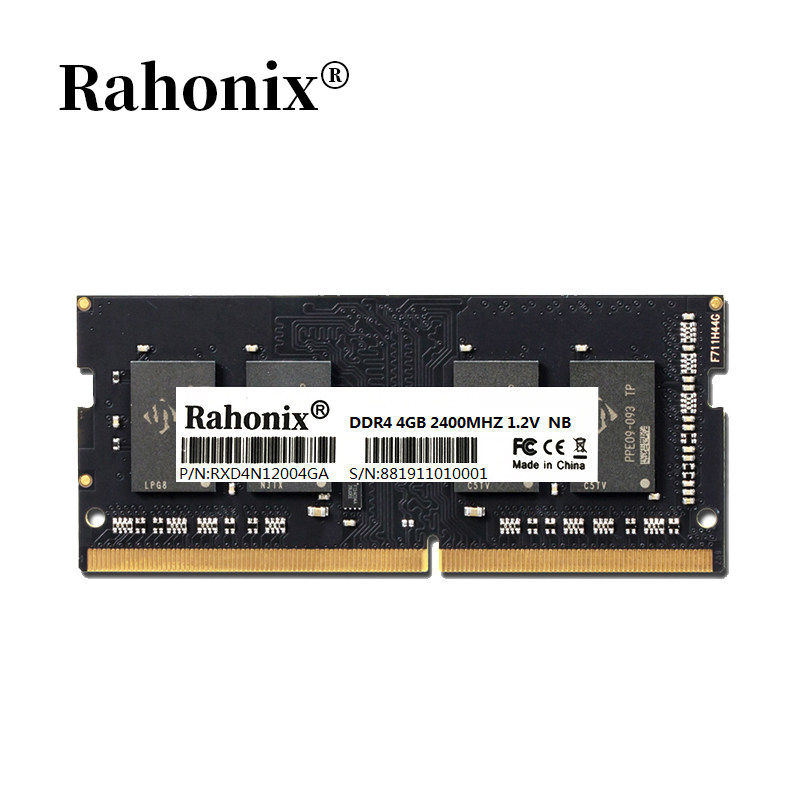 Rahonix <font><b>memoria</b></font> <font><b>ddr4</b></font> <font><b>notebook</b></font> <font><b>ram</b></font> 4GB <font><b>2133MHz</b></font> <font><b>8GB</b></font> 2400 2666MHz <font><b>DDR4</b></font> sodimm laptop memory high performance <font><b>ddr4</b></font> <font><b>RAM</b></font> image