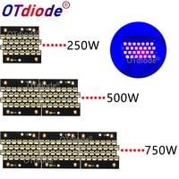 1pcs 250W 500W 1000W 2000W UV 395nm 405nm High Power Purple COB LED Copper PCB for uv light,Flatbed Printer,uv glue curing light