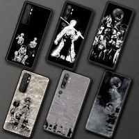 Funda de teléfono para Xiaomi Mi Poco M3 Poco X3 NFC F2 Pro 9T 10T 9 Lite Nota 10 Lite Pro CC9 cubierta de la cáscara de Japón Anime una pieza Zoro