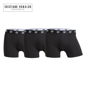 Image 1 - 2020 Popular Brand Mens Boxer Shorts Underwear Cristiano Ronaldo CR7 quality Cotton Sexy Underpants Pull in Male Panties