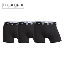 2020 popüler marka erkek baksır şort iç çamaşırı Cristiano Ronaldo CR7 kaliteli pamuk seksi külot çekin erkek külot