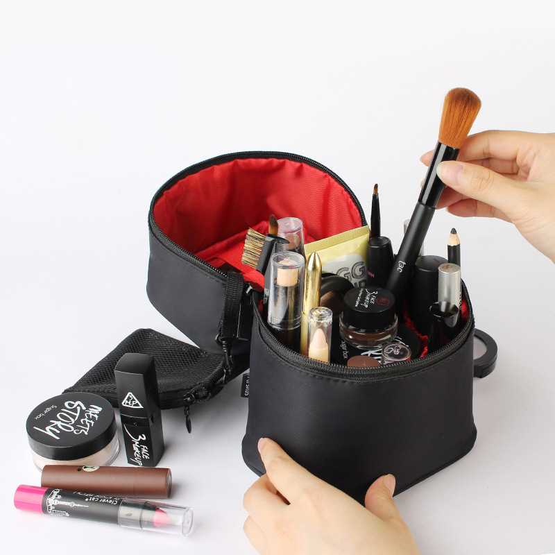 Купить с кэшбэком Hanging Travel Organizer Cosmetic Toiletry Bag Portable Make up Case for Women Men with Hanging Hook for vacation