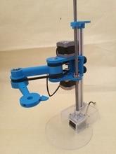 3D เครื่องพิมพ์เลือกการปฏิบัติตามหุ่นยนต์ประกอบแขน XYZ แกน Scara Manipulator โครงสร้างรุ่น DIY ชุด