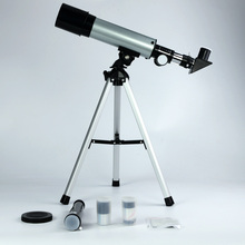 F36050 astronomical telescope Refractor Type Space telescope w/ tripod for children student Christmas gift festival Box wnnideo 90x portable astronomical refractor tabletop telescope 360x50mm for kids sky star gazing