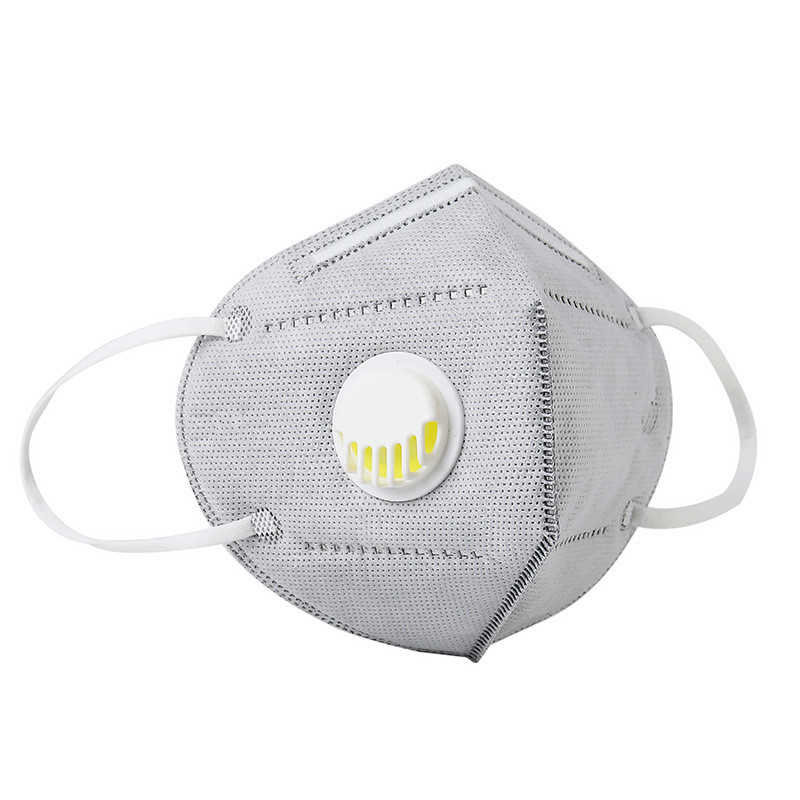 10/20/30/50 PCS Disposable Respirator Mouth Masks Cover Protective Anti Dust Mask With Valve  Individually Packaging